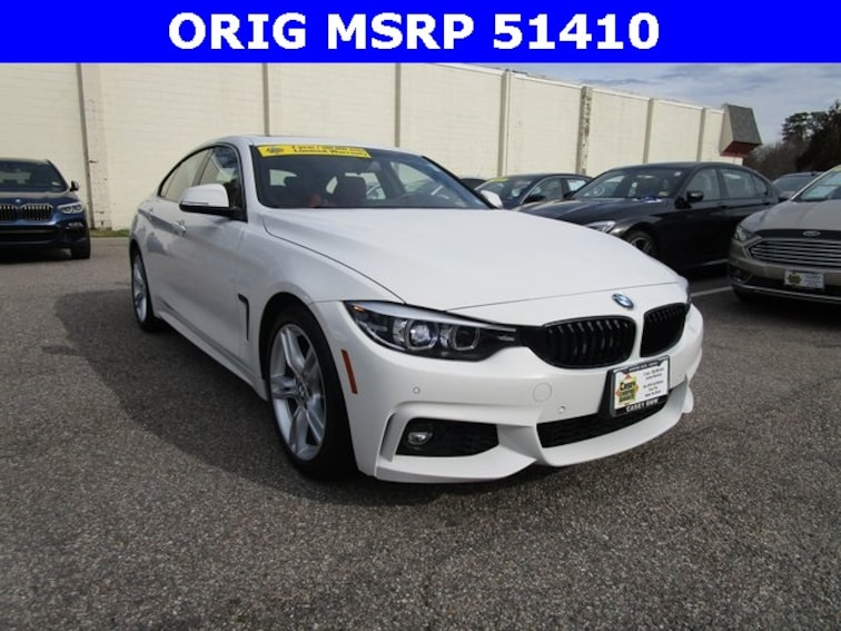 Used 2018 BMW 430i Gran Coupe Norfolk Area