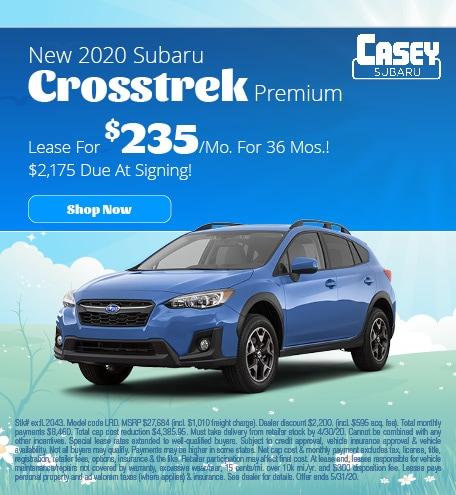 May   2020 Crosstrek