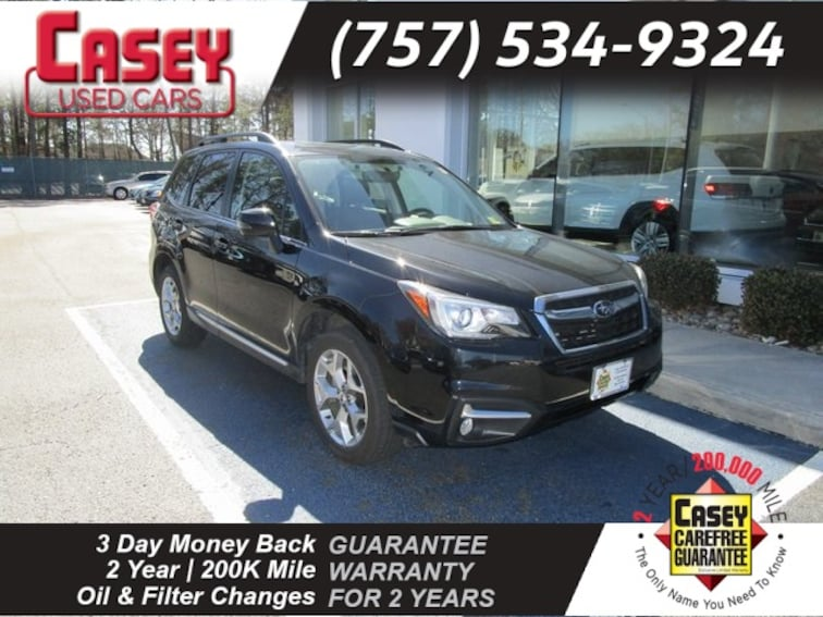 Certified 2018 Subaru Forester 2.5i Touring SUV Norfolk Area