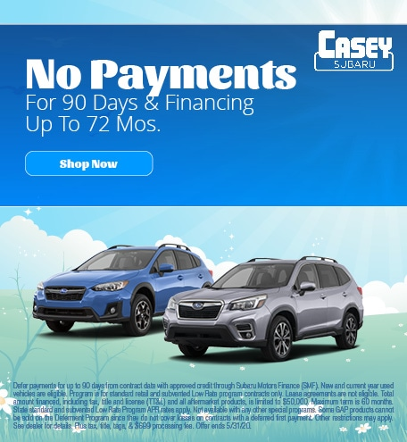 May   No Payments