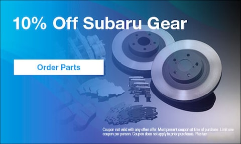 October | 10% Off Subaru Gear