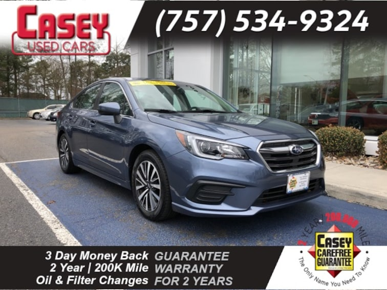 Certified 2018 Subaru Legacy 2.5i Premium Sedan Norfolk Area