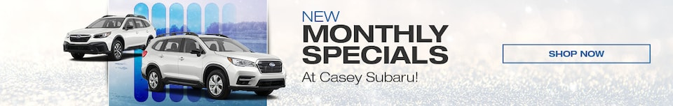 New Monthly Specials