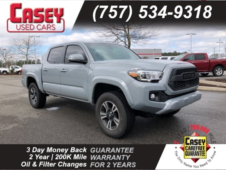 Used 2018 Toyota Tacoma TRD Truck Double Cab Norfolk Area