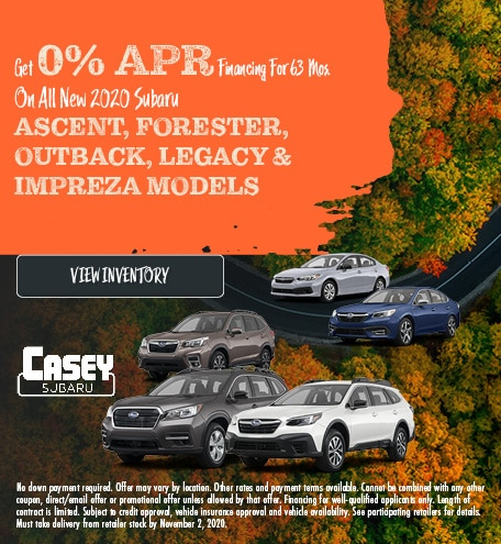 Get 0% APR Financing For 63 Mos.