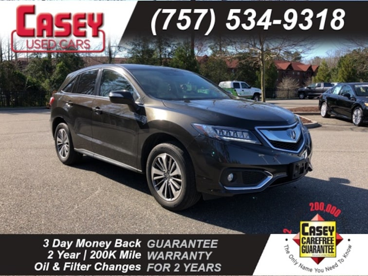 Used 2016 Acura Rdx Rdx Awd With Advance Package For Sale In