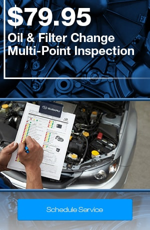 Subaru Express Service | Oil & Filter Change - Multi-point Inspection