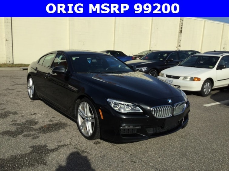 Used 2016 BMW 650i Gran Coupe Norfolk Area