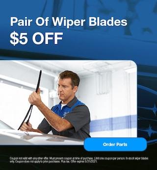 Pair Of Wiper Blades