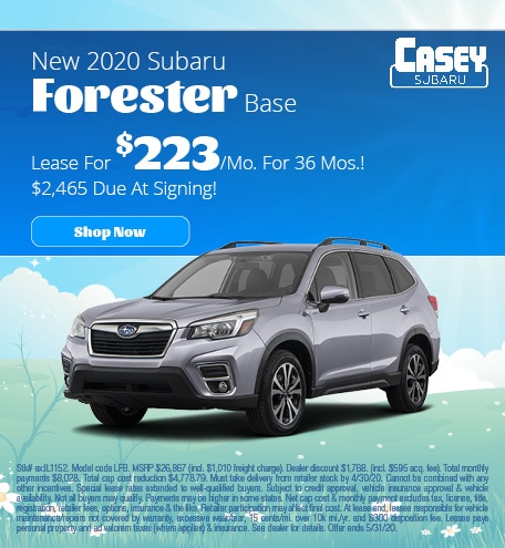 May   2020 Forester
