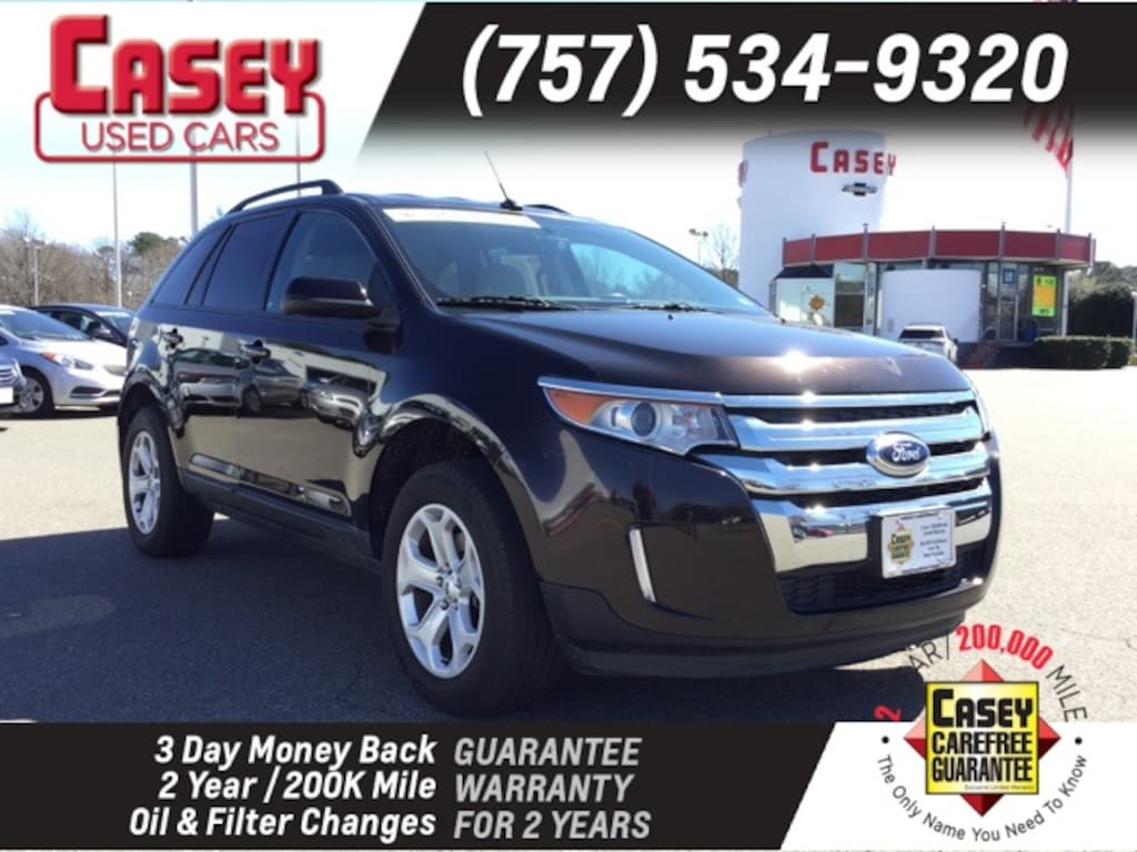 Used 2014 Ford Edge Sel For Sale In Newport News And Wiliamsburg Area Va Vin