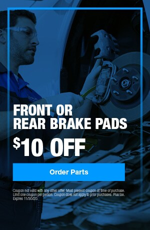 Front or Rear Brake Pads