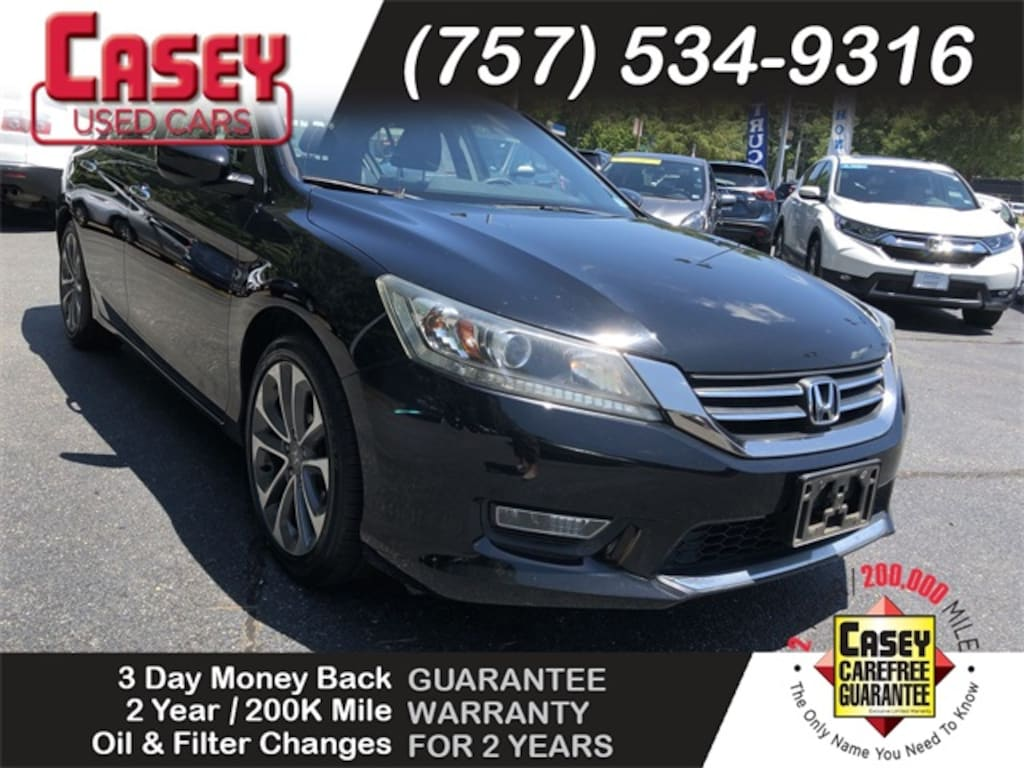 2013 Honda Accord Sport For Sale >> Used 2013 Honda Accord Sport For Sale In Newport News And Wiliamsburg Area Va Vin