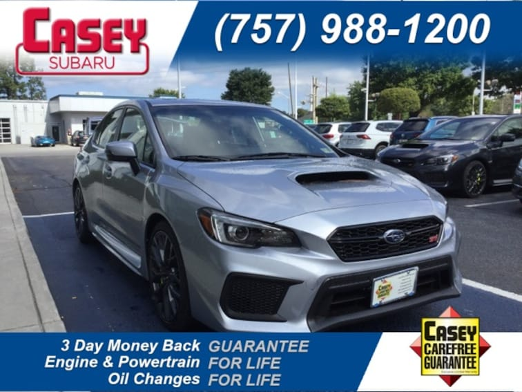 New 2019 Subaru Wrx Sti Limited For Sale In Newport News And Norfolk