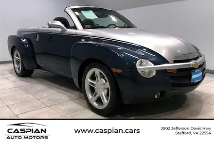 Featured used cars, trucks, and SUVs 2005 Chevrolet SSR Base Truck for sale near you in Stafford, VA