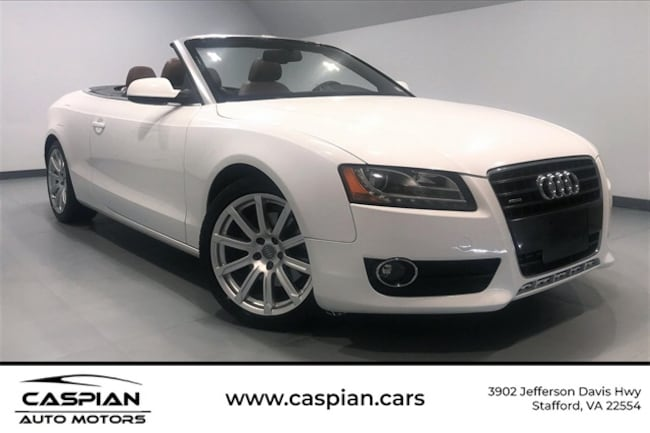 Used vehicle 2012 Audi A5 2.0T Premium Convertible for sale near you in Stafford, VA