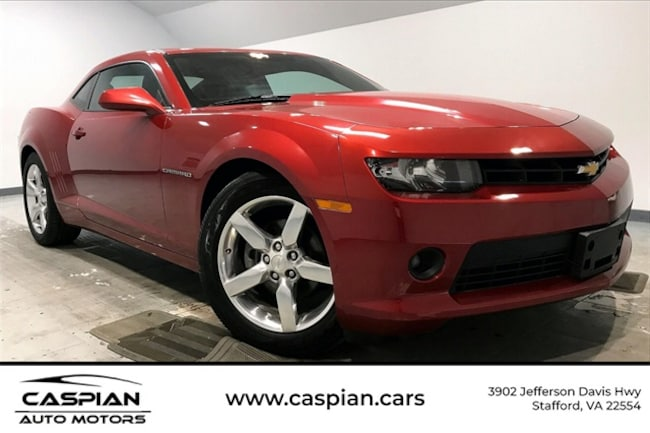 Used vehicle 2014 Chevrolet Camaro 1LT Coupe for sale near you in Stafford, VA