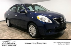 Discounted bargain used vehicles 2014 Nissan Versa 1.6 S Sedan for sale near you in Stafford, VA