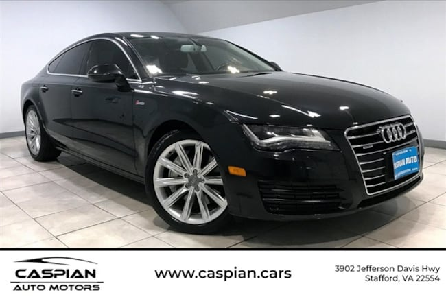Used vehicle 2015 Audi A7 3.0T Premium Plus Hatchback for sale near you in Stafford, VA
