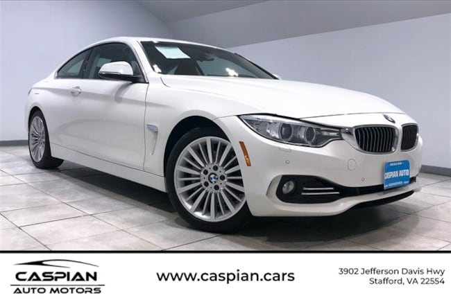 Used vehicle 2014 BMW 4 Series 435i xDrive Coupe for sale near you in Stafford, VA
