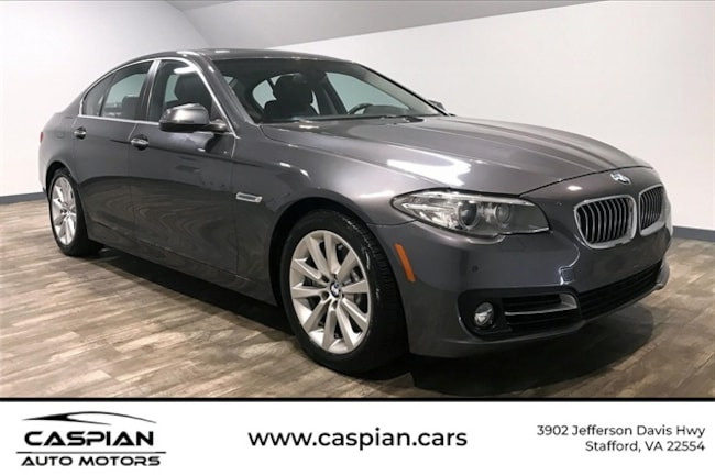 Used vehicle 2016 BMW 5 Series 535d Sedan for sale near you in Stafford, VA