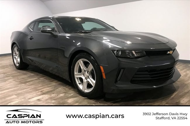 Used vehicle 2018 Chevrolet Camaro 1LT Coupe for sale near you in Stafford, VA