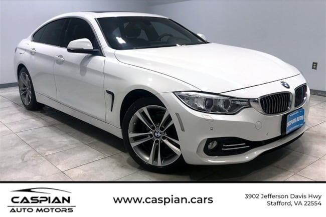 Used vehicle 2016 BMW 4 Series 428i xDrive Gran Coupe Hatchback for sale near you in Stafford, VA