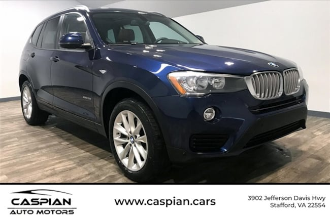 Used vehicle 2017 BMW X3 xDrive28i SUV for sale near you in Stafford, VA