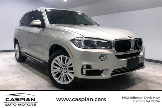 Used vehicle 2016 BMW X5 Sdrive35i SUV for sale near you in Stafford, VA