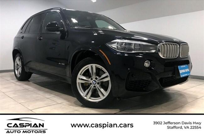 Used vehicle 2014 BMW X5 xDrive50i SUV for sale near you in Stafford, VA