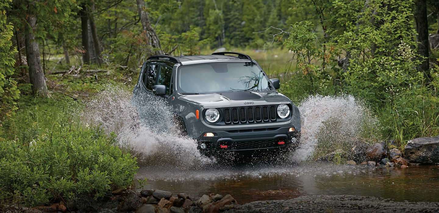 2017 Jeep Renegade Exterior Front Gray