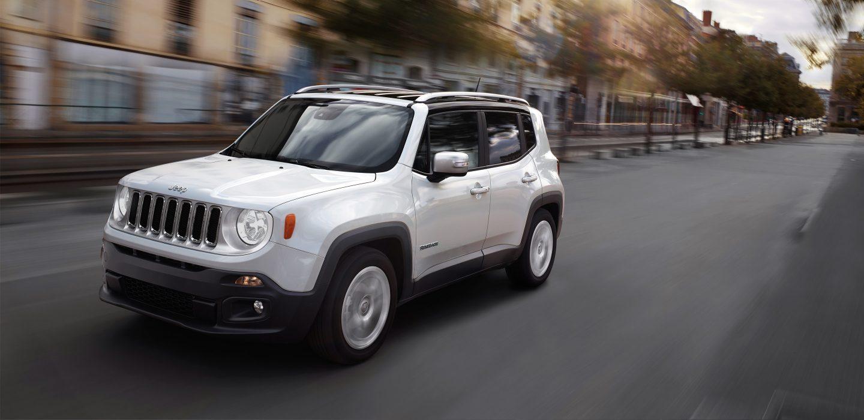 2018 Jeep Renegade Front White Exterior