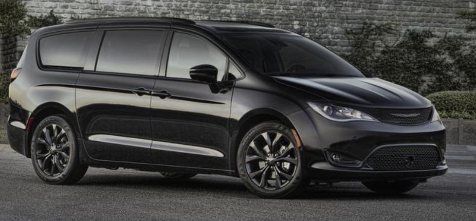 2019 Chrysler Pacifica Black Exterior