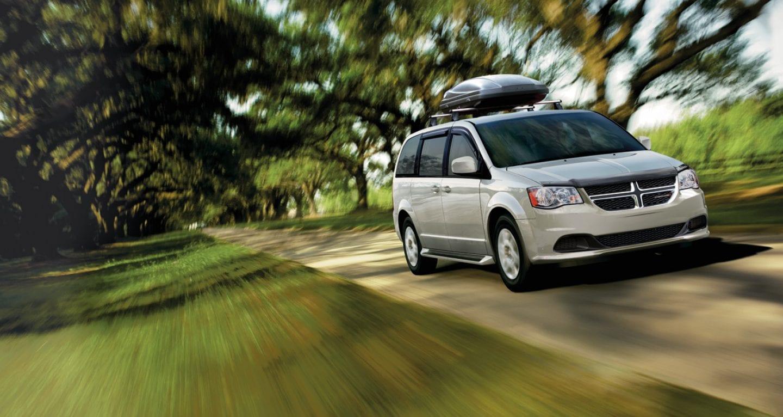 2018 Dodge Grand Caravan Silver Front Exterior