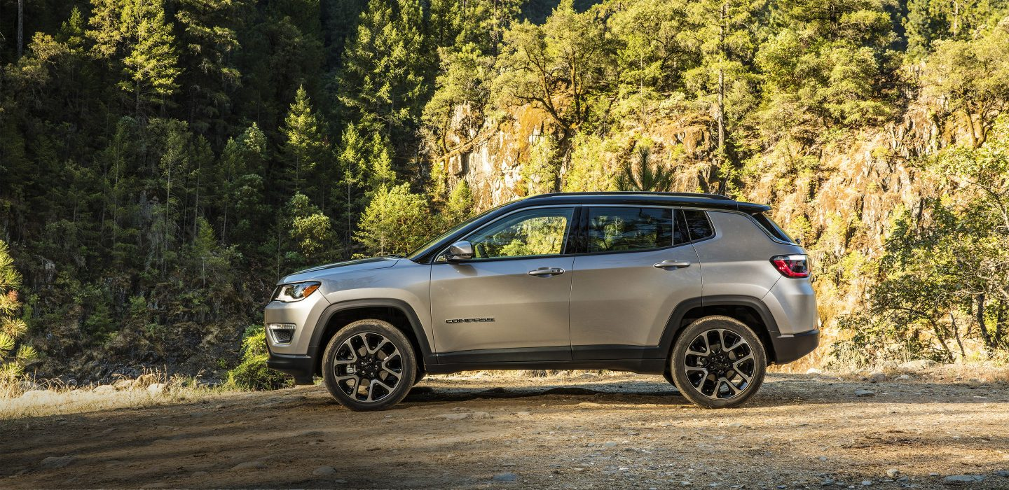 2017 All New Jeep Compass Exterior Side