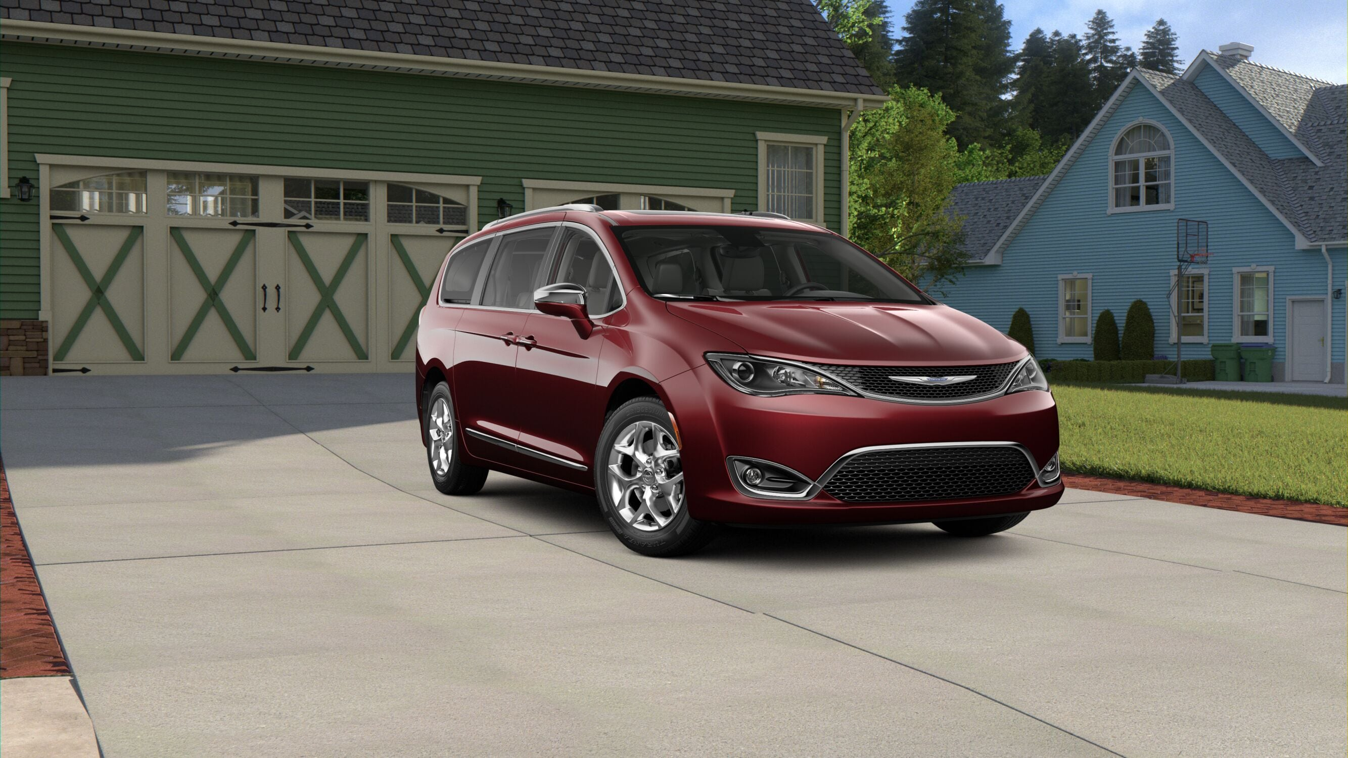 2019 Chrysler Pacifica Exterior Front Picture