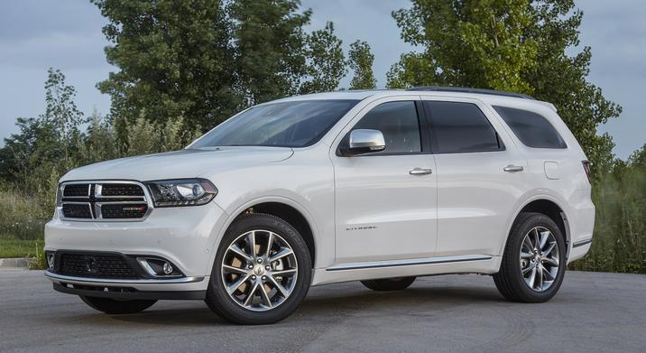 2019 Dodge Durango White Front Exterior
