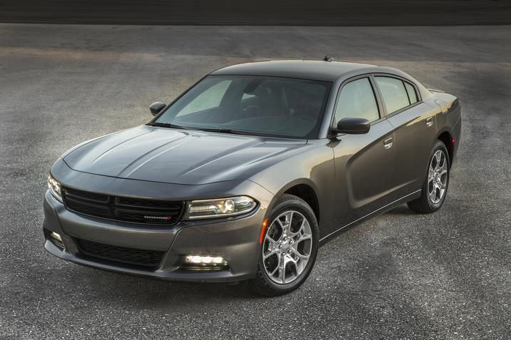 2017 Dodge Charger SXT AWD Front Gray Exterior