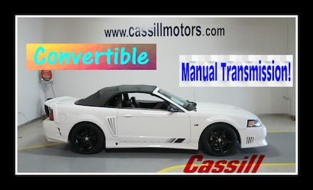 Featured Pre-Owned 2002 Ford Mustang Convertible for sale near you in Cedar Rapids, IA
