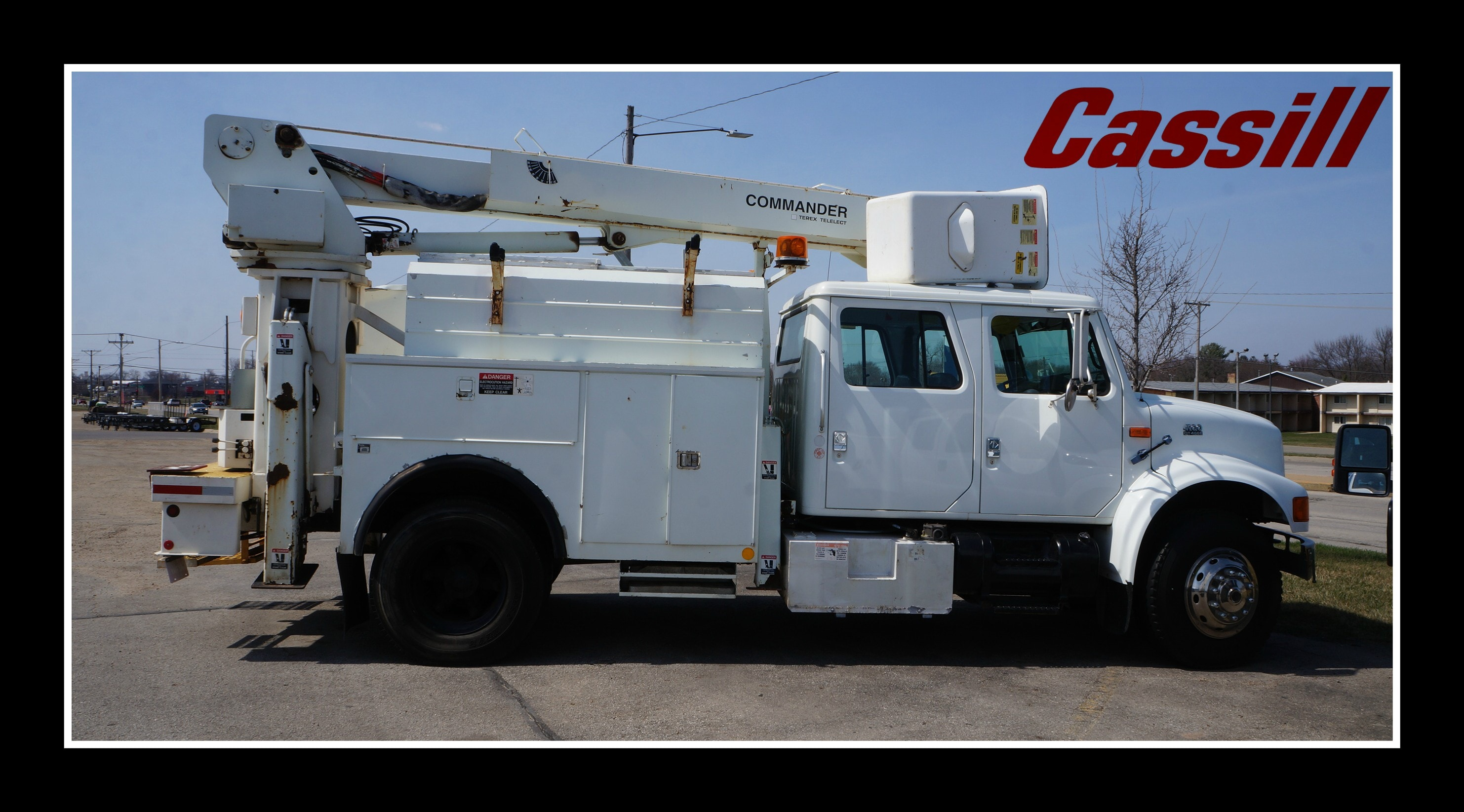 Featured Pre-Owned 2000 International 4000 Series 4900 Straight Truck CC for sale near you in Cedar Rapids, IA