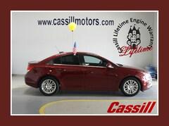 Bargain Used 2016 Chevrolet Cruze Limited ECO Auto Sedan for sale near you in Cedar Rapids, IA