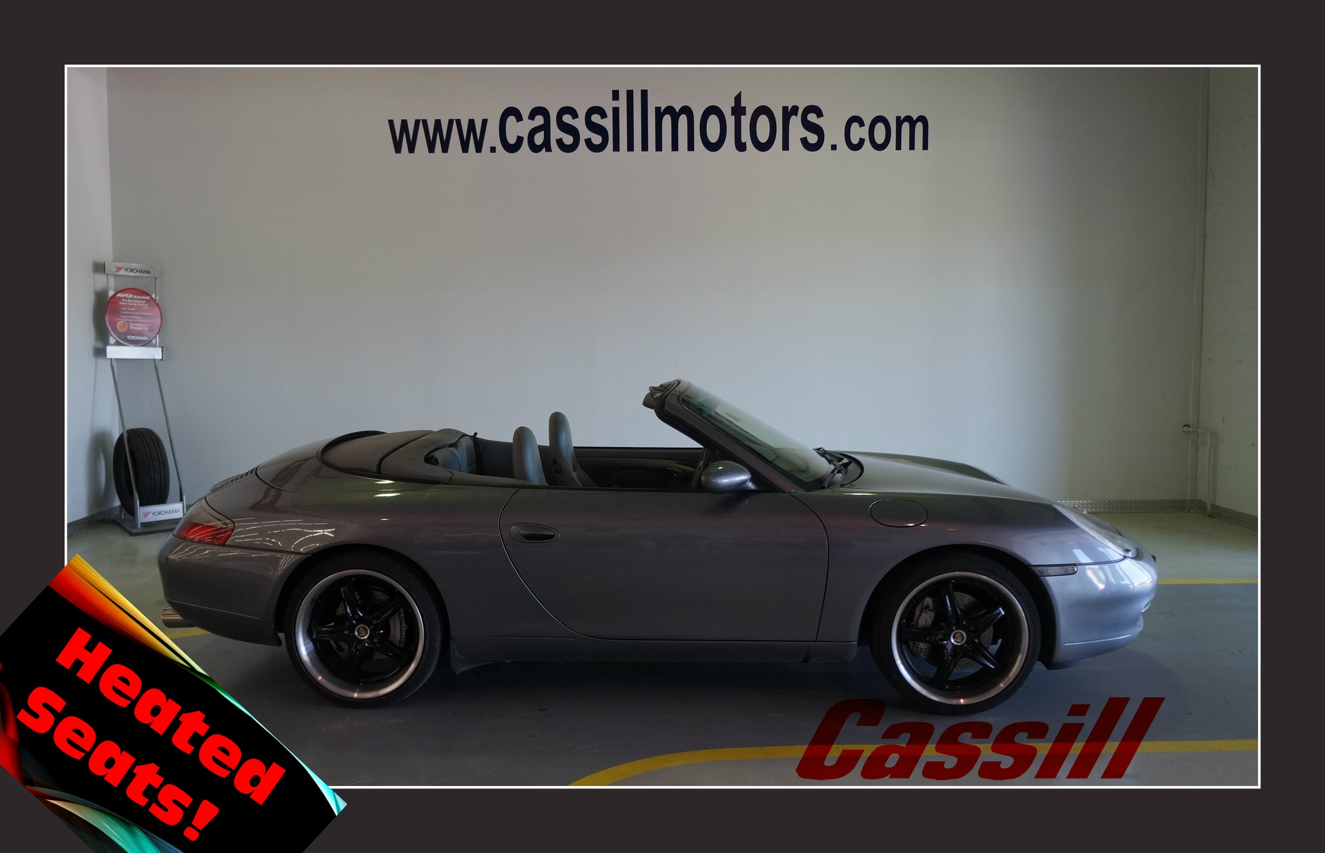Featured Pre-Owned 2001 Porsche 911 Carrera Convertible for sale near you in Cedar Rapids, IA