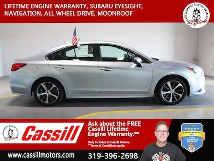 Featured Pre-Owned 2017 Subaru Legacy Limited Sedan for sale near you in Cedar Rapids, IA