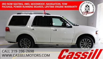 Featured Pre-Owned 2017 Lincoln Navigator Select SUV for sale near you in Cedar Rapids, IA