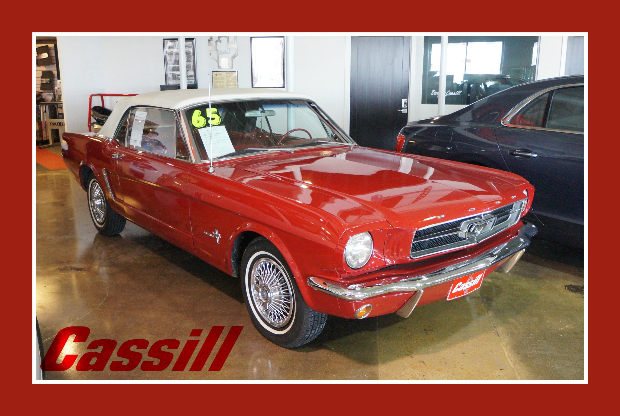 Featured Pre-Owned 1965 Ford Mustang Convertible Convertible for sale near you in Cedar Rapids, IA