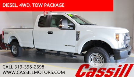Featured Pre-Owned 2018 Ford F-250 XL Truck Super Cab for sale near you in Cedar Rapids, IA