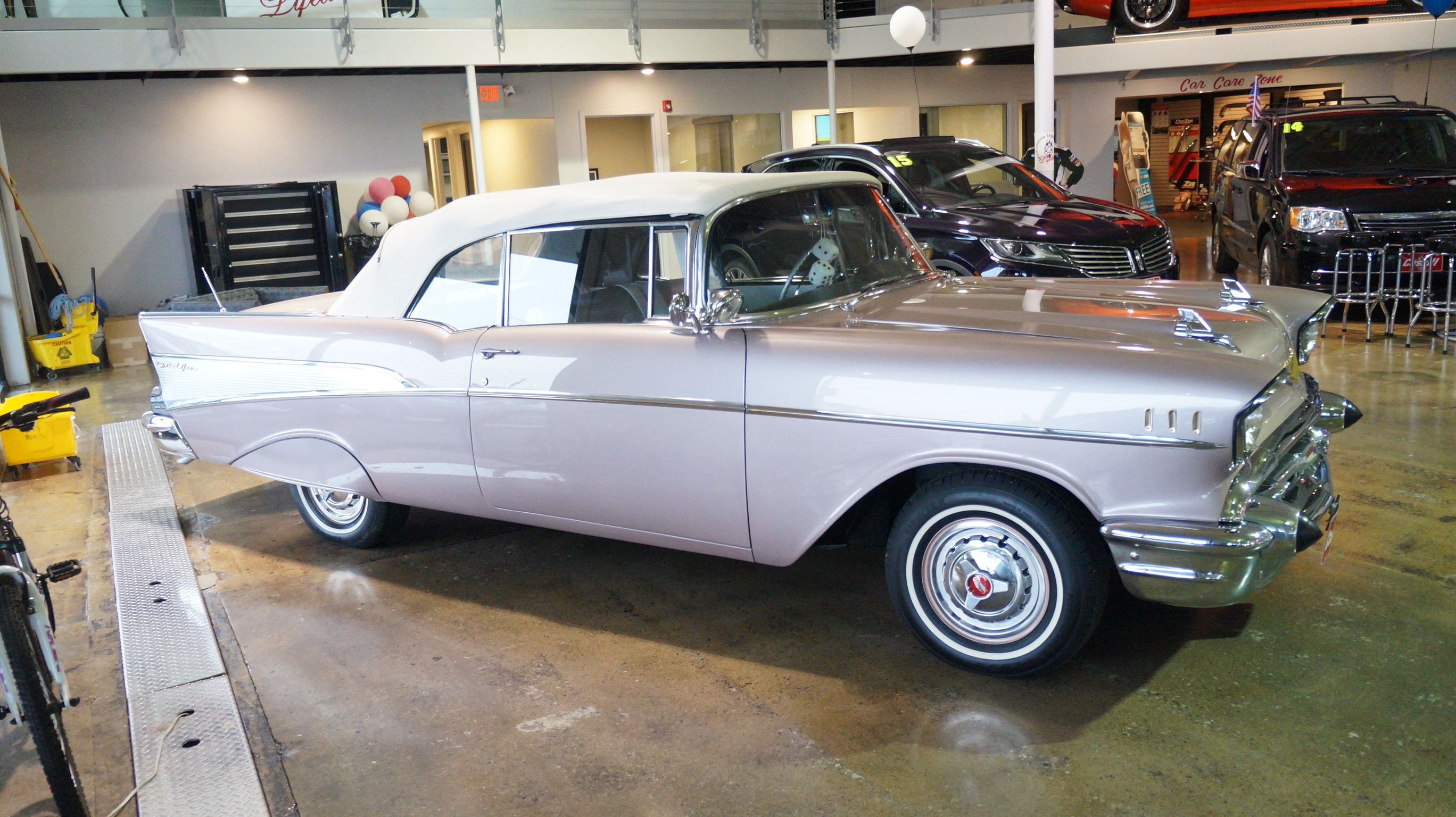 Featured Pre-Owned 1957 Chevrolet BEL AIR Convertible for sale near you in Cedar Rapids, IA