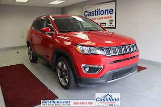 Used 2019 Jeep Compass Limited SUV for sale in Batavia, NY
