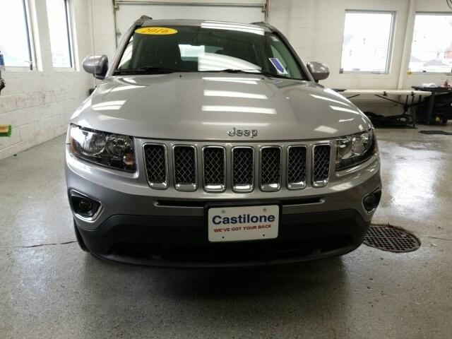2016 Jeep Compass, Batavia, NY, SUV, Castilone Chrysler Dodge Jeep Ram near  Buffalo, NY, VIN:1C4NJDEB4GD697714