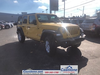 New 2020 Jeep Wrangler UNLIMITED SPORT S 4X4 Sport Utility for sale in Batavia